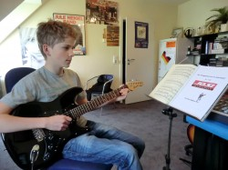 Jakob E-Gitarre